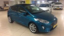 Fiesta 1.0 EcoBoost Titanium Powershift 100 Ps Hatchback