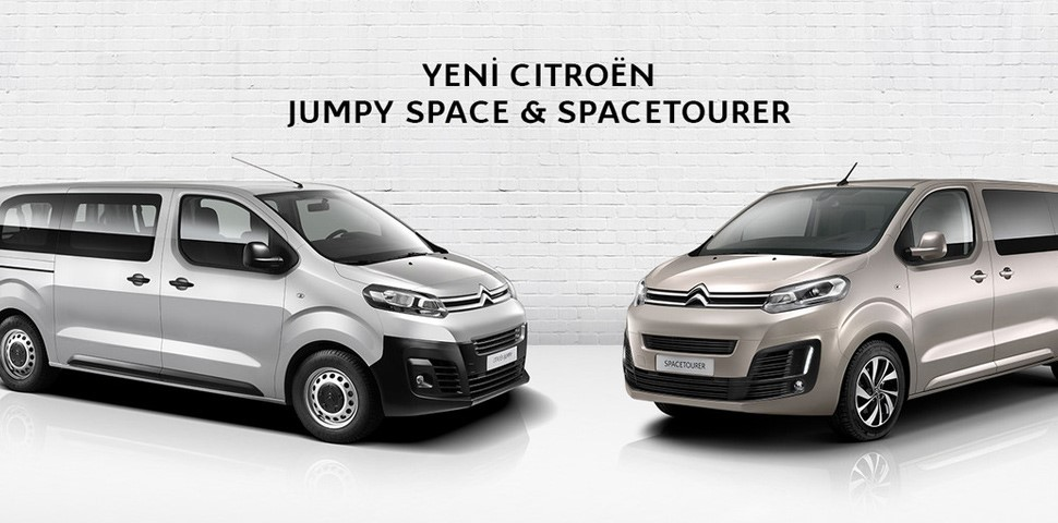 CİTROËN JUMPY SPACE & SPACETOURER